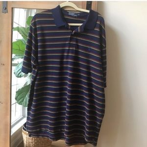 Polo by Ralph Lauren Navy and multi-colored stripe